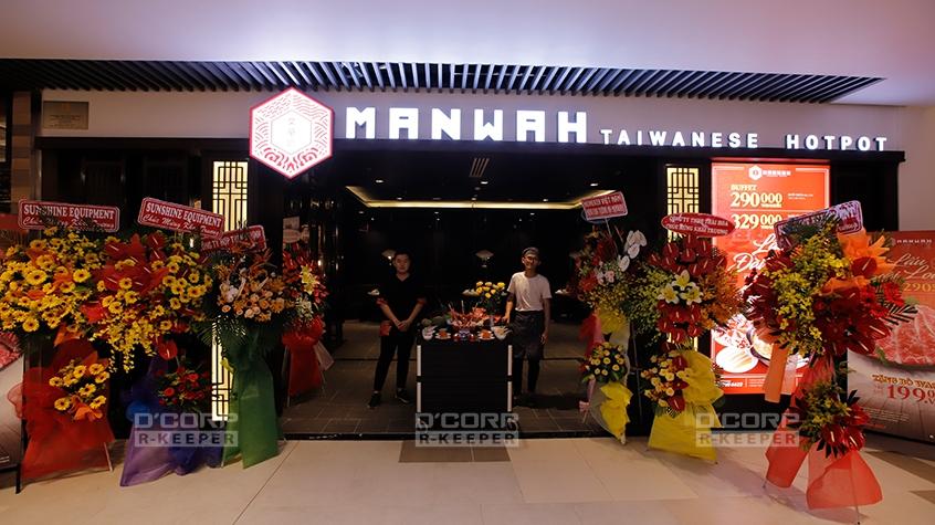 """Manwah – Tinh hoa lẩu Đài Loan nổi tiếng với """"núi thịt bò"""" khổng lồ"""